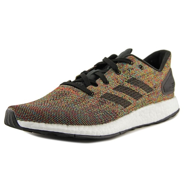 84151d9728f23 Adidas Pureboost DPR LTD Men Round Toe Canvas Multi Color Running Shoe