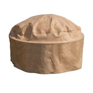 """Budge P9A25SF1-N Round Or Square Firepit Cover, 39"""" x 15"""""""