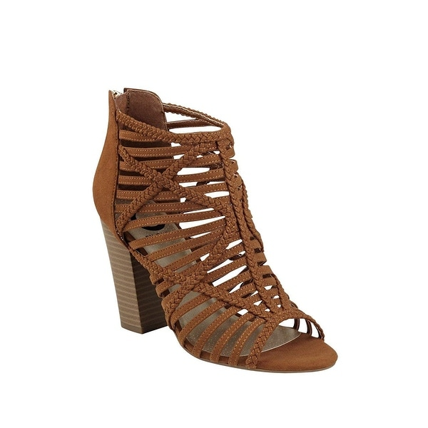 G by Guess Womens Jelus Open Toe Casual Strappy Sandals - 9