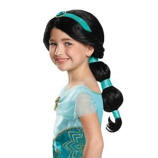 Disguise Jasmine Child Wig - Black
