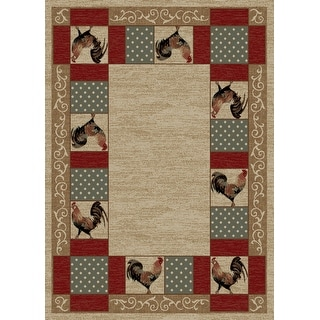 Link to American Destination Barnyard Country Living Area Rug Similar Items in Rugs
