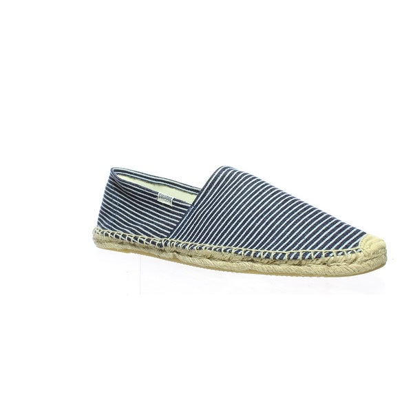 3cee5e46e8b Shop Soludos Mens Blue White Espadrilles Size 10 - Free Shipping On Orders  Over  45 - Overstock - 27993366