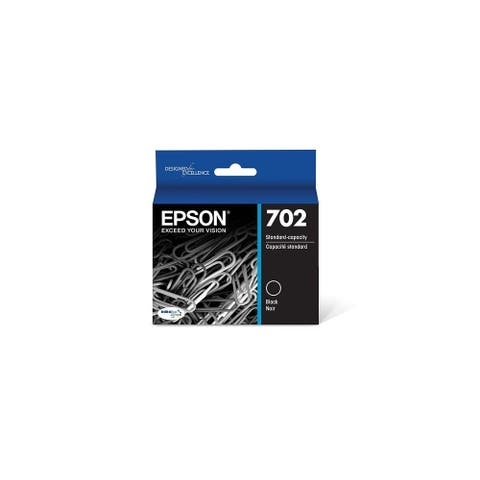 Epson T702 Durabrite Ink - Ultra Black Ink Cartridge