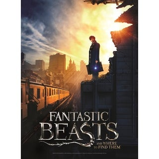 Children's Harry Potter & Fantastic Beasts Poster Puzzles - Fantastic Beasts Nyc - multi