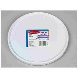 "Rubbermaid 2303-RD WHT Turntable,White,14"" x 3/4"""