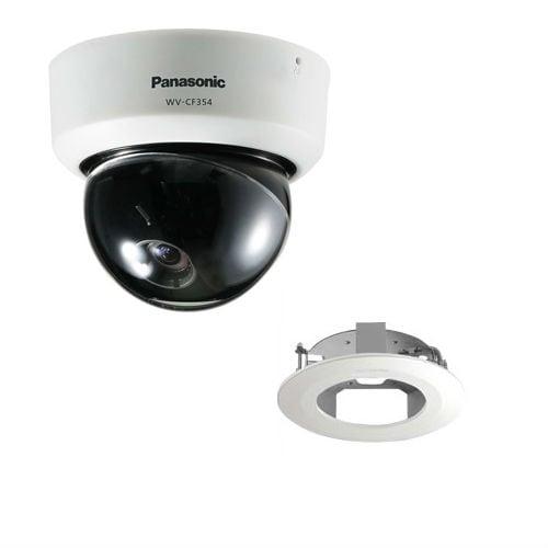 Panasonic WV-CF354 with Ceiling Mount Panasonic WV-CF354 Day/Night Fixed Dome Camera