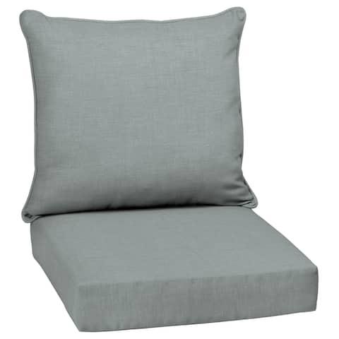 Arden Selections Outdoor Deep Seat Cushion Set