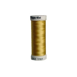 942 1167 Sulky Rayon Thread 40wt 250yd Maize Yellow
