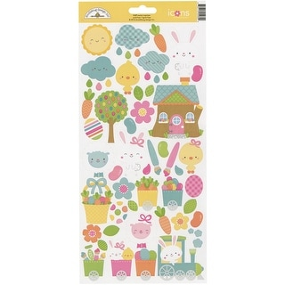 """Easter Express Cardstock Stickers 6""""X13""""-Icons"""