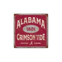 University of Alabama Five & Dime Large Tin Sign