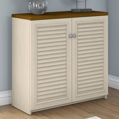 "Copper Grove Samtredia 2-door Storage Cabinet - 31.73""L x 12.76""W x 30.71""H - 31.73""L x 12.76""W x 30.71""H"