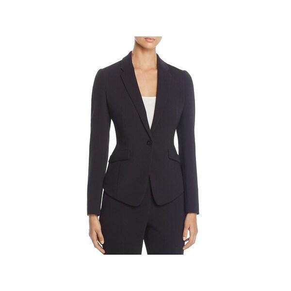 78a19367f Shop BOSS Hugo Boss Womens Jalania One-Button Blazer Business Office ...