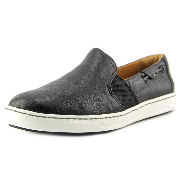 Sperry Top Sider Harbor View Women Moc Toe Leather Black Boat Shoe
