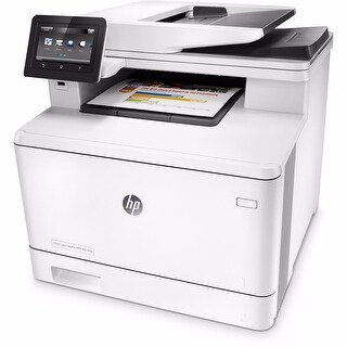 HP Color LaserJet Pro M477fnw All-in-One Laser Printer - WHITE