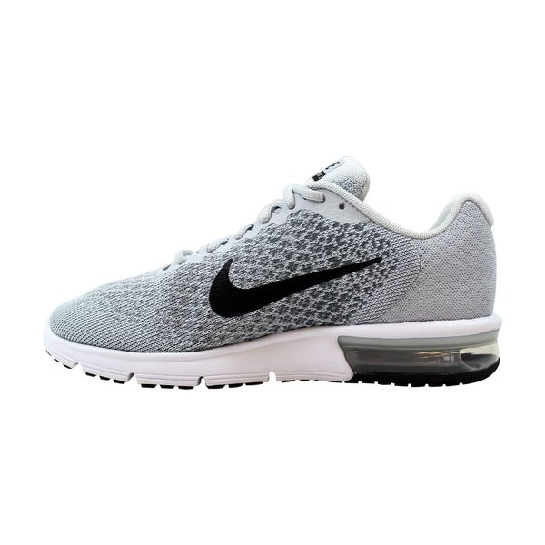 Shop Nike Air Max Sequent 2 Pure PlatinumBlack Cool Grey