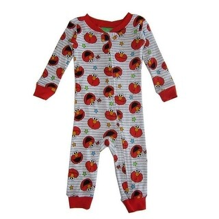 Sesame Street Baby Boys Red Elmo Sleeper