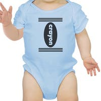 Crayon Cute Baby Halloween Bodysuit First Halloween Outfits Baby Gift