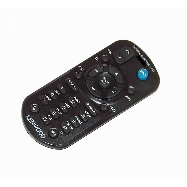 OEM Kenwood Remote Control Originally Shipped With: KDCMP152U, KDC-MP152U, KDCMP245, KDC-MP245, KDCMP245U, KDC-MP245U