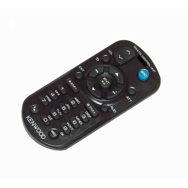 OEM Kenwood Remote Control Originally Shipped With: KDCMP252U, KDC-MP252U, KDCMP345, KDC-MP345, KDCMP345U, KDC-MP345U