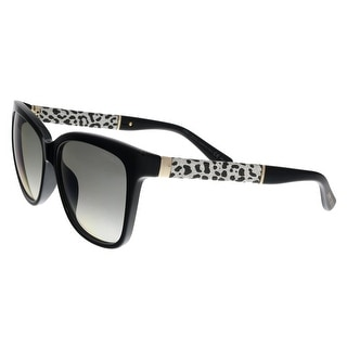 8db44139cea Shop Jimmy Choo CORA S FA3 Black Glitter Square Sunglasses - No Size - Free  Shipping Today - Overstock - 22818035