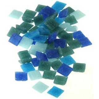 Seascape - Vitreous Glass Mosaic Tiles .5Lb