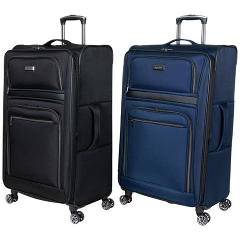 """Kenneth Cole Reaction """"Rugged Roamer"""" 28"""" Expandable 8-Wheel Spinner Checked Lightweight Suitcase"""