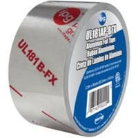"Intertape ALF201L02560HR Aluminum Foil Tape, 2.5"" x 60 Yd"
