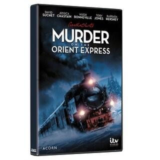 Agatha Christie's Murder on the Orient Express Staring David Suchet - DVD