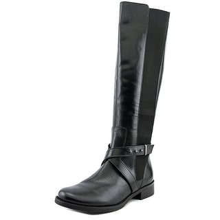 Steven Steve Madden Sydnee  W Round Toe Leather  Knee High Boot