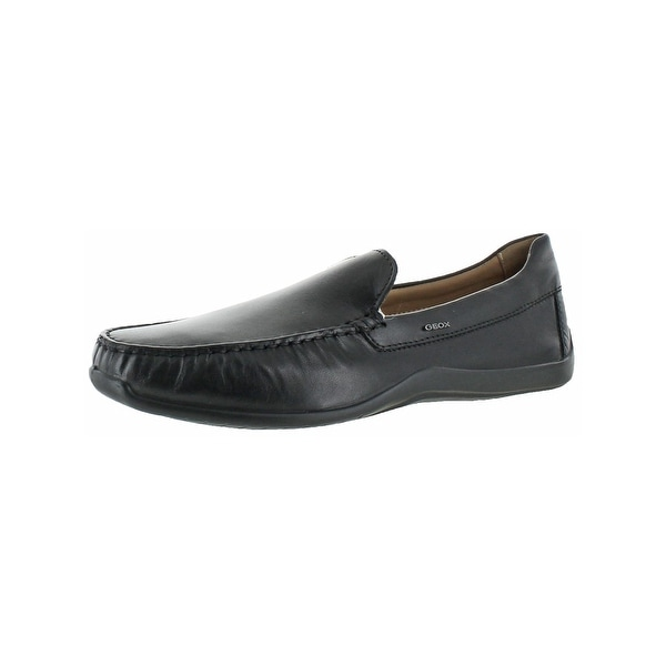 c129171d2d3 Shop Geox Respira Mens Xense Driving Moccasins Leather Loafer - Free ...