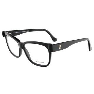 Balenciaga BA5003/V 001 Black Square prescription-eyewear-frames