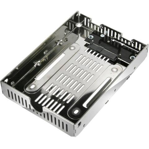 Icy dock ezconvert air lite mb482sp-3b drive bay adapter - Chrome