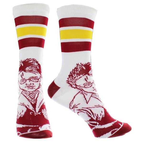 Harry Potter Athletic Crew Socks - White