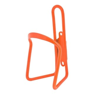SUNLITE Alloy Bicycle Water Bottle Cage - Neon-Orange - 6Mm - JP-A003