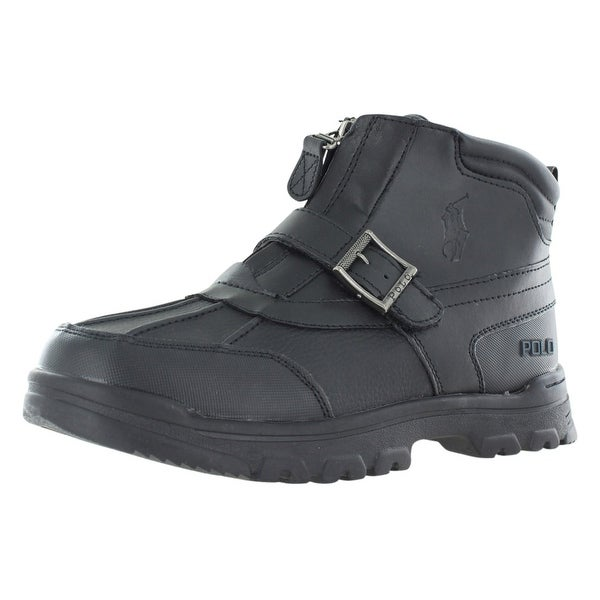 99de192c37 Polo Ralph Lauren Country Mid Zip Boots Boy's Gradeschool Shoes - 6