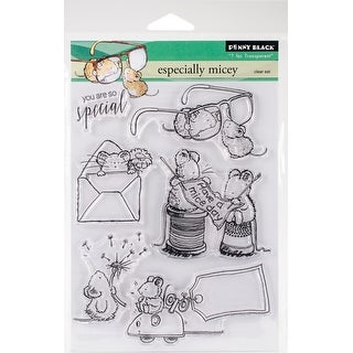 "Penny Black Clear Stamps 5""X7""-Especially Micey"