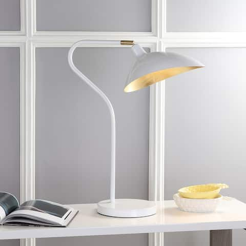 "SAFAVIEH Lighting 30-inch Giselle Adjustable Task Table Lamp - 20""x10.16""x23-30"""