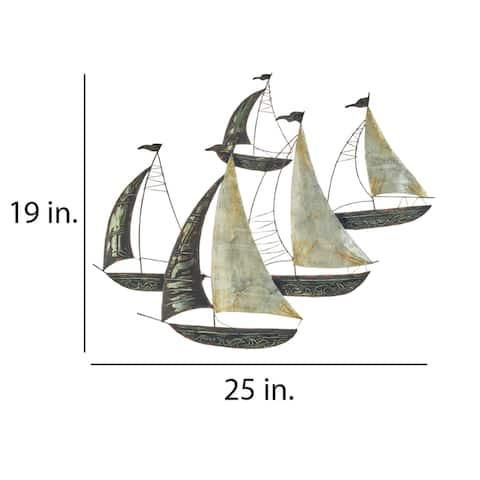 Sailboats Group Of Five