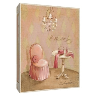 """PTM Images 9-154848  PTM Canvas Collection 10"""" x 8"""" - """"Boudoir III"""" Giclee Perfumes Art Print on Canvas"""