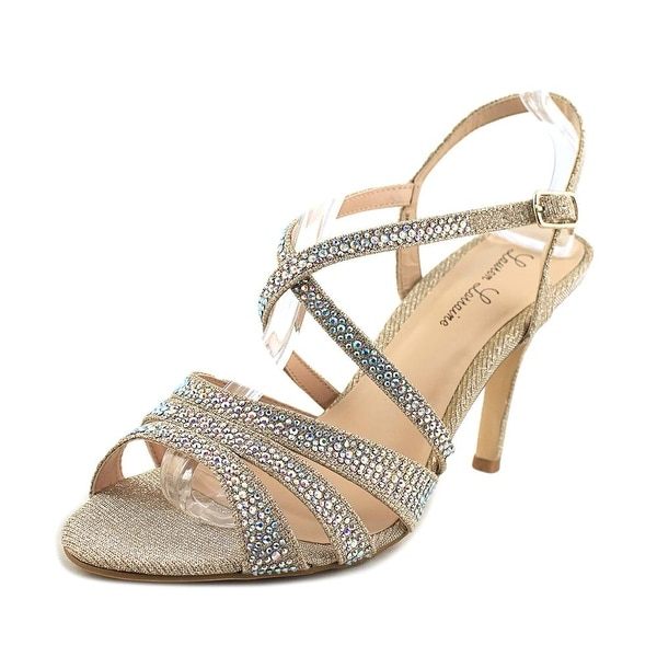 f79937da6d7 Shop Lauren Lorraine Nadine Women Open Toe Synthetic Nude Sandals ...