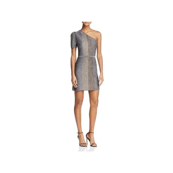 Shop Parker Womens Clara Cocktail Dress One Shoulder Mini
