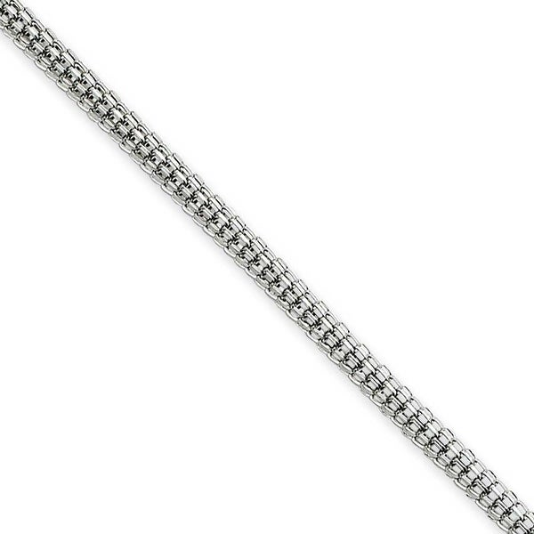 Chisel Stainless Steel 2.5mm 24 Inch Bismark Chain (2.5 mm) - 24 in