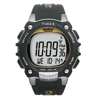 Timex Ironman w/ Flix System Black/Silver Ironman w/ Flix System