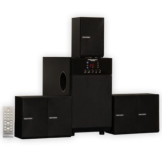 Theater Solutions TS509 Home Theater 5.1 Speaker System Multimedia Surround Sound