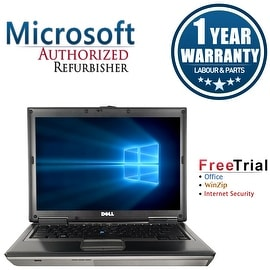 "Refurbished Dell Latitude D620 14.1"" Laptop Intel Core 2 Duo 1.83G 2G DDR2 80G DVD Win 7 Home Premium 64 1 Year Warranty"