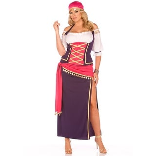 Plus Gypsy Maiden Costume