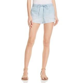 Joie Womens Shorts Chambray Raw Hem