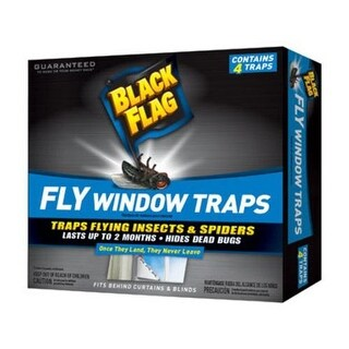 Black Flag HG-11017 Fly Window Trap, Black