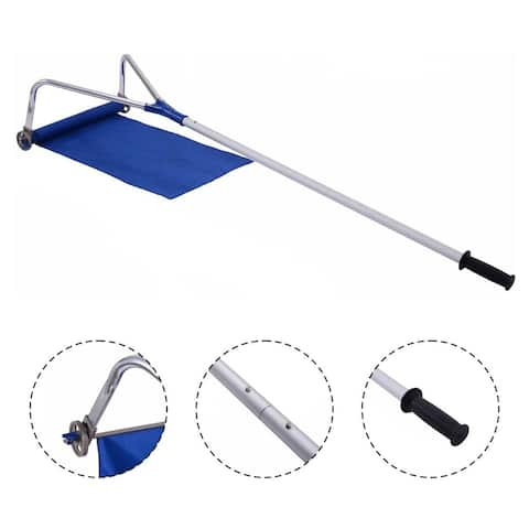Costway Lightweight Roof Rake Snow Removal Tool 20FT Adjustable Telescoping Handle