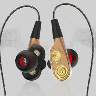 3D High Fidelity Balanced Bass Driven Sound Headsets Lightweight